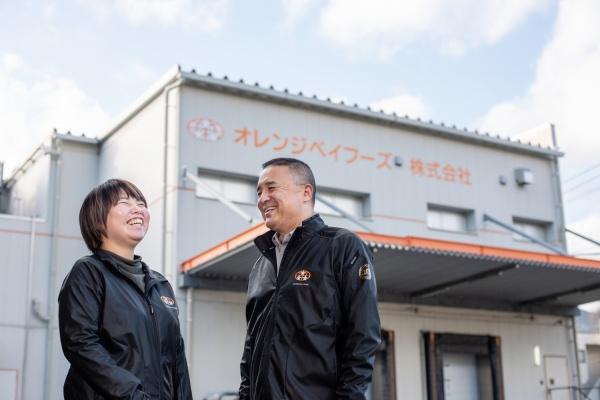 オレンジベイフーズ株式会社 福本梓さん(27歳)